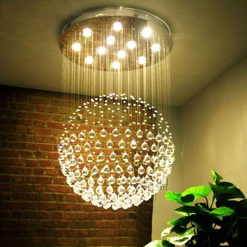1pc (Ball Only )Home Wedding Party Prism Lamp Ceiling Accessories Hanging Clear Crystal Chandelier Ball