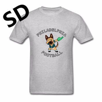 Dropshipping Funny T Shirt Men Philadelphia Under(Dogs) Tshirt Eagles camisetas hombre fitness graphic tees Plus Size