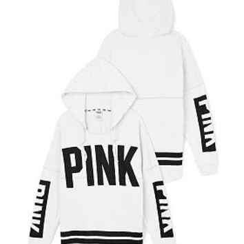 Varsity Hoodie - PINK - Victoria's Secret from Victoria's Secret