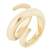 Jennifer Fisher - 14kt Yellow Gold Plated Ring