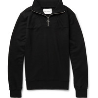 Our Legacy - Ribbed Cotton-Blend Half-Zip Sweatshirt | MR PORTER