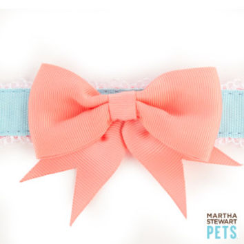 Martha Stewart Pets® Fresh Meadows Bow Dog Collar | Collars | PetSmart