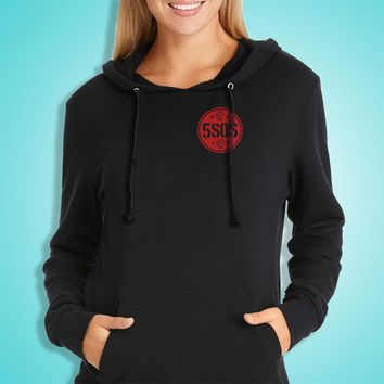 Five 5 Seconds Of Summer 5Sos Music Band Women'S Hoodie