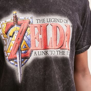 Zelda Graphic Oil Wash Tee