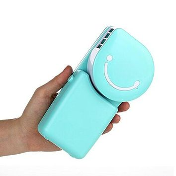 Operated Cooling Handy Mini Fan For Office Home Travel Outdoor
