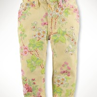 Floral Bowery Skinny Jean
