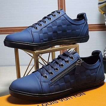 LV Louis Vuitton Man Fashion Casual Shoes Flats Shoes