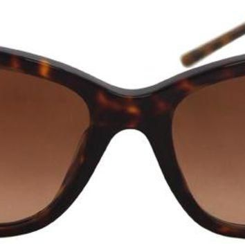 burberry dark havana sunglasses