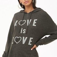 Love Is Love Graphic Hoodie