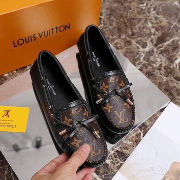 DCCK LV Louis Vuitton Gucci Fashion Women Casual Single Shoe