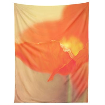 Bree Madden Orange Bloom Tapestry