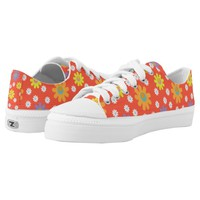 Spring shoes are here cute flower design printed shoes