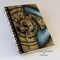 Steampunk Machinery Notebook 2