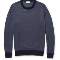 Brioni - Patterned Knitted Cashmere Sweater | MR PORTER