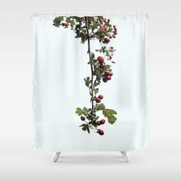 Autumn Vibe II Shower Curtain by anipani