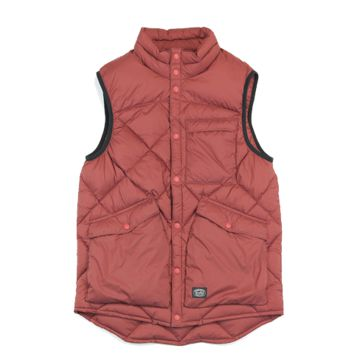 Down vest - Red