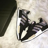 ADIDAS Women Running Sport Casual Shoes NMD Sneakers Shining H-MDTY-SHINING