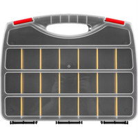 Stalwart  Parts Organizer Box w- 23 Compartments