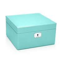Tiffany & Co. - Jewelry box in Tiffany Blue® leather, small. More colors available.