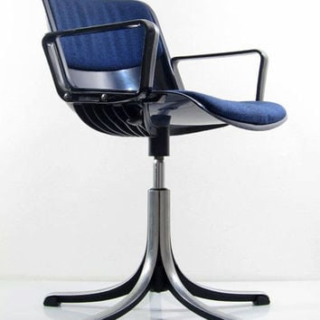 Osvaldo Borsani Tecno Modus Adjustable Desk Chairs   Fifties, He