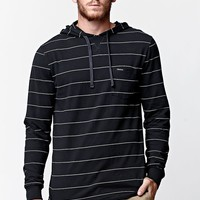 Volcom Blanco Long Sleeve Hooded Shirt - Mens Shirt - Black