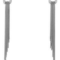 Women's David Yurman 'Chain' Earrings with Diamonds
