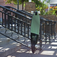"""Gravity 45"""" Vision Pintail Longboard Complete"""