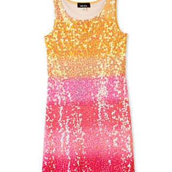 BCX Girls Dress, Girls Sequin Party Dress - Kids Girls 7-16 - Macy's