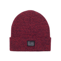 HUF - MIXED YARN BEANIE SP14 // NAVY SALMON