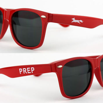 "Limited Edition Country Club Prep Longshanks ""Prep"" Sunglasses in Red"