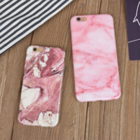 Unique Marble iPhone 6 6s Plus Case Gift
