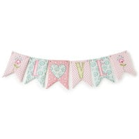 Levtex Baby Fiona 'Love' Banner Wall Decor