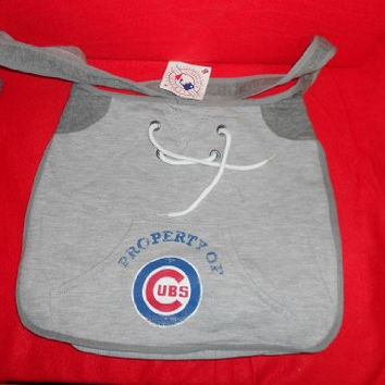Chicago Cubs purse sweatshirt 14x3x11 inches brand new official MLB baseball