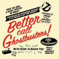 Better Call Ghostbusters