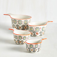 Knead to Dough Basis Measuring Cups | Mod Retro Vintage Kitchen | ModCloth.com