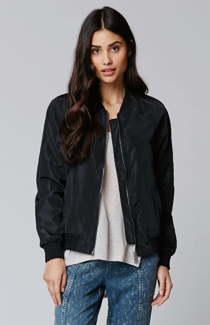 La Hearts Windbreaker Bomber Jacket From Pacsun Quick