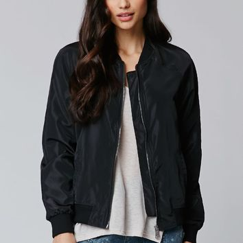 LA Hearts Windbreaker Bomber Jacket - Womens Jacket