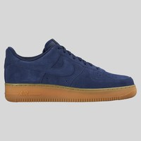 AUGUAU Nike Air Force 1 Mid Navy Suede Gum Sole