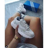 ADIDAS FALCON men and women Retro Old running shoes
