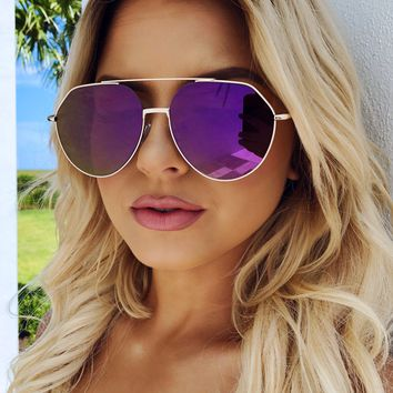 The Future's So Bright Shades: Purple
