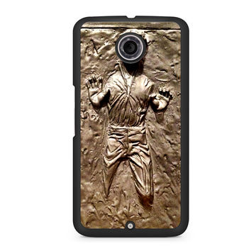 Star Wars Han Solo Frozen in Carbonite Nexus 6 case