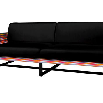 Stripe Right Arm Sectional Sofa