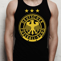 germany national team logo men tank top ---print screen tank top  for men, Awesome tank top for Man,Size S --- 3XL