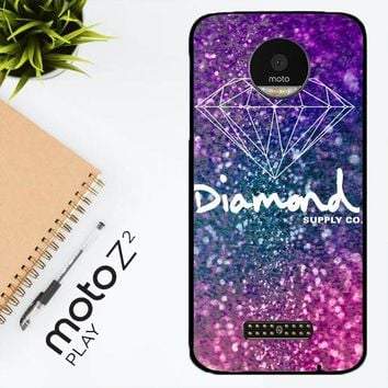Glitter Diamond Supply Co Z0290 Motorola Moto Z2 Play Case