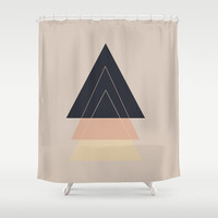 Fear of Separation Shower Curtain by Bunhugger Design