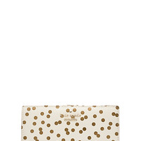 Kate Spade Cedar Street Confetti Dot Stacy Bridal Cream ONE