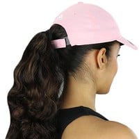 Adidas Women's Performance Max Front Hit Relaxed Pink Hat