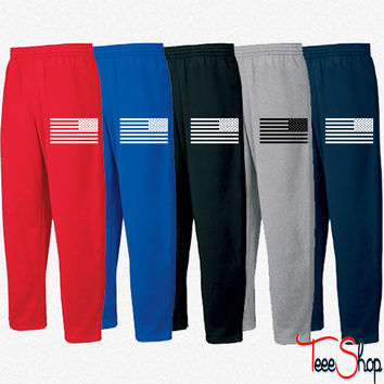 American Flag Tactical Subdued Sweatpants