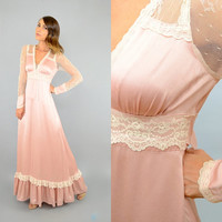 70's Satin GUNNE SAX Dress