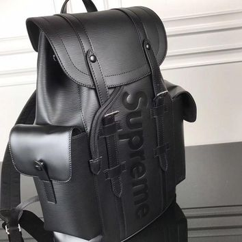 cc DCCK LV x Supreme Backpack black
